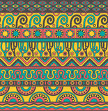 Vector seamless pattern with ethnic elements. Royalty Free Stock Photography