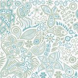 Vector seamless pattern with ethnic. Ornament Royalty Free Stock Images