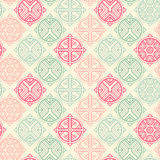 Vector seamless pattern with ethnic regular ornament Stock Image