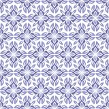 Geometric tiled seamless vector pattern in ethnic style Royalty Free Stock Photos