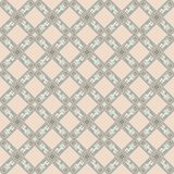 Vector seamless pattern of european ornamental style stock illustration