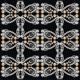 Vector seamless pattern fashion fabric diamonds. vector illustration