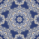 Vector seamless pattern, filigree background. Royalty Free Stock Photos