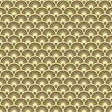 Vector seamless pattern with fish scales stock illustration