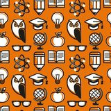 Vector seamless pattern in flat style Stock Photo
