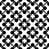 Vector seamless pattern, floral geometric texture, ornament background. Royalty Free Stock Photography