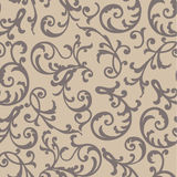 Vector seamless pattern. With floral ornaments Royalty Free Stock Photography