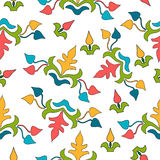 Vector seamless pattern. floral stylish background Stock Images