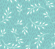 Vector seamless pattern. floral stylish background Royalty Free Stock Photography