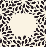 Vector seamless pattern. Floral vintage background Royalty Free Stock Photos