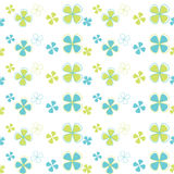 Vector seamless pattern flowers Stock Images