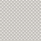 Vector seamless pattern in the form of flakes Stock Photography