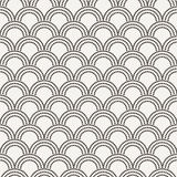 Vector seamless pattern in the form of flakes Stock Image