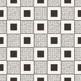 Vector seamless pattern in the form of a labyrinth Stock Photos