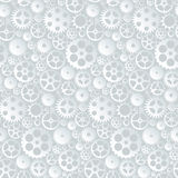 Vector seamless pattern with gears and cogwheels Stock Photo