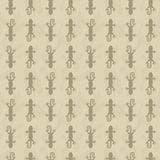 Vector Seamless pattern with gecko Stock Image