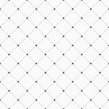 Vector seamless pattern. Geometric background with dotted rhombuses. stock illustration