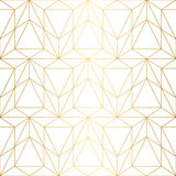 Vector seamless pattern. Geometric background with rhombus and n Stock Photo
