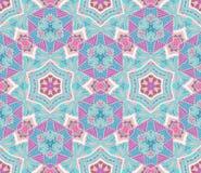 Ethnic geometric  seamless tribal  pattern Stock Photo