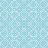 Vector seamless pattern with geometric shapes Royalty Free Stock Image
