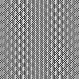 Vector seamless pattern. Geometric texture. Black-and-white background. Monochrome design. vector illustration
