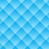 Vector seamless pattern. The geometric volume with a gradient pattern. Blue geometric neutral background Royalty Free Stock Images
