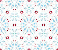 Vector seamless pattern of geometrical elements. Stock Image