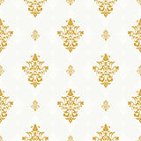 Vector seamless pattern with golden ornament Stock Photos