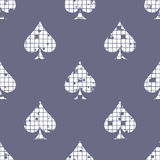 Vector seamless pattern, graphic illustration Royalty Free Stock Photography