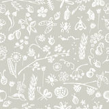Vector seamless pattern, graphic illustration Royalty Free Stock Images