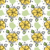 Vector seamless pattern, graphic illustration Stock Photography