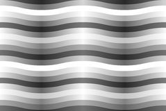 Vector seamless pattern with gray wavy strips. Stock Photography