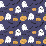 Vector seamless pattern for Halloween Stock Photo