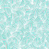 Vector seamless pattern with hand drawn lines. Traditional hatching. Royalty Free Stock Photography