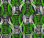 Vector Seamless Pattern. Hand Drawn Traditional African Ornament. Royalty Free Stock Image