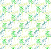 Vector seamless pattern of handbags Stock Photography