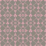 Seamless pattern with hearts Stock Photography