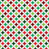 Vector seamless pattern illustration on a Christmas Holiday theme on white background. Royalty Free Stock Photo