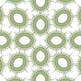 Vector seamless pattern imitating floral lace Royalty Free Stock Photo