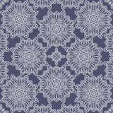 Vector seamless pattern imitating floral lace Royalty Free Stock Photography