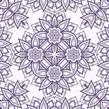 Vector seamless pattern imitating floral lace Royalty Free Stock Images
