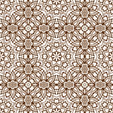 Vector seamless pattern imitating floral lace Stock Photography