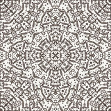 Vector seamless pattern imitating lace Stock Photos