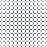 Vector seamless pattern. Infinitely repeating simple elegant texture consisting of hexagons, crosses. Geometrical cover surface Royalty Free Stock Photo