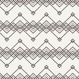 Vector seamless pattern of interwoven lines Royalty Free Stock Image