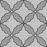 Seamless pattern lace black and white Royalty Free Stock Photography
