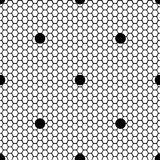 Seamless pattern lace black and white Royalty Free Stock Photo