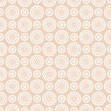 Vector seamless pattern with lace elements. Royalty Free Stock Images