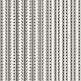 Vector seamless pattern of lace ornate ribbons Stock Images