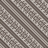 Vector seamless pattern of lace ornate ribbons Royalty Free Stock Images